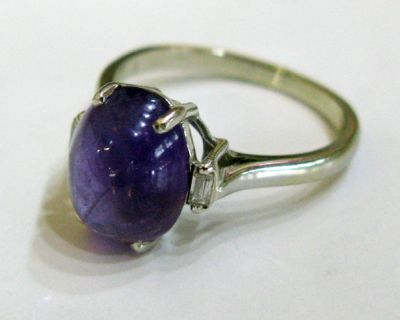 2015 ML Facets/2 Qtr/Vintage Amethyst Ring CFA1206335 68274a