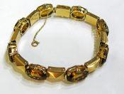 Vintage Citrine Bracelet