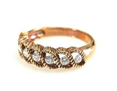 2015 ML Facets/2 Qtr/Vintage Diamond Ring CFA1504108 79309