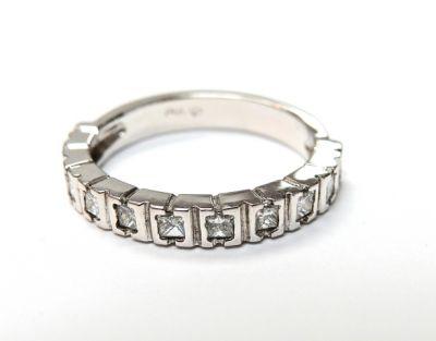 2015 ML Facets/2 Qtr/Vintage Diamond Ring Wedding Band CFA1503162 79266