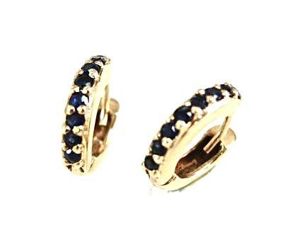 Vintage Sapphire Earrings