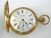 Waltham Pocket Watch, Hunter's Case