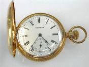Waltham Pocket Watch, Hunter's Case