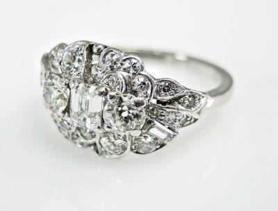 2015 ML Facets/3 Qtr/Art Deco Diamond Ring CFA1505321 79539