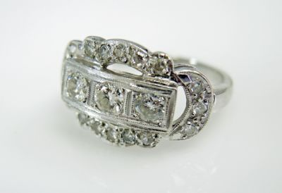 2015 ML Facets/3 Qtr/Art Deco Diamond Ring CFA1505328 79523
