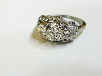 2015 ML Facets/3 Qtr/Art Deco Diamond Ring CFA1505345 79597 a