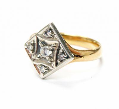 2015 ML Facets/3 Qtr/Edwardian Diamond Ring CFA1507219 79806