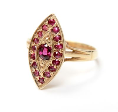 2015 ML Facets/3 Qtr/Edwardian Ruby Ring CFA150737 79717