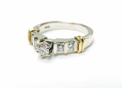 2015 ML Facets/3 Qtr/Modern Diamond Engagement Ring CFA1506110 79562