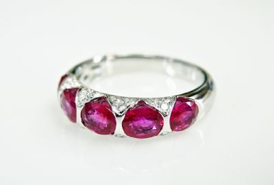 2015 ML Facets/3 Qtr/Modern Ruby and Diamond Ring CFA1507358 79831