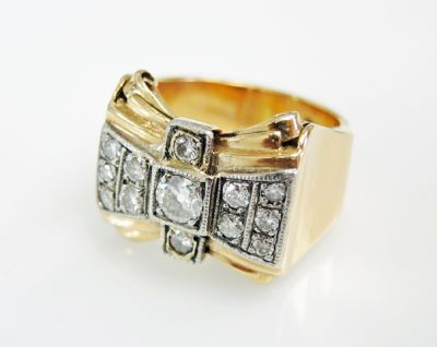 2015 ML Facets/3 Qtr/Retro Diamond Ring CFA1505322 79518