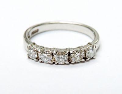 2015 ML Facets/3 Qtr/Vintage 5 Diamond Ring CFA150720 79701