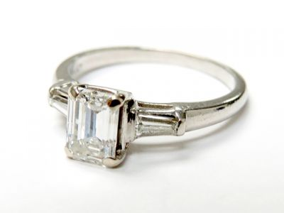 2015 ML Facets/3 Qtr/Vintage Diamond Engagement Ring CFA150749 79729