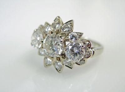 2015 ML Facets/3 Qtr/Vintage Diamond RIng CFA1507323 79748