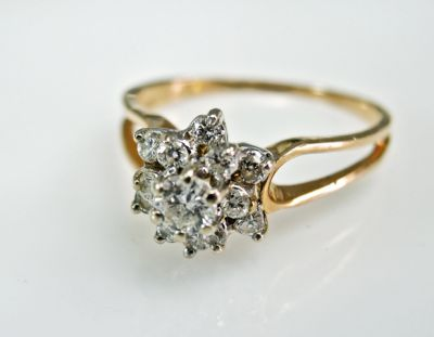 2015 ML Facets/3 Qtr/Vintage Diamond Ring CFA1505313 79465