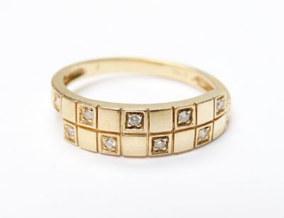 2015 ML Facets/3 Qtr/Vintage Diamond Ring CFA150722 79703