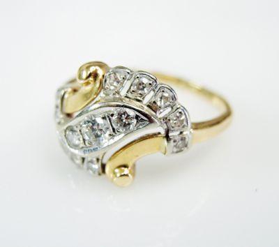 2015 ML Facets/3 Qtr/Vintage Diamond Ring CFA1507319 79744