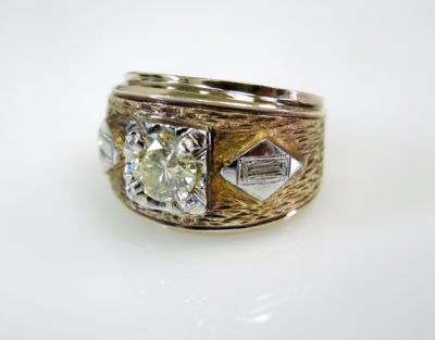 2015 ML Facets/3 Qtr/Vintage Diamond Ring CFA1507332 79755