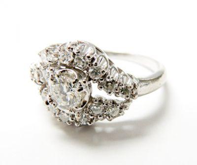 2015 ML Facets/3 Qtr/Vintage Diamond Ring CFA150751 79731