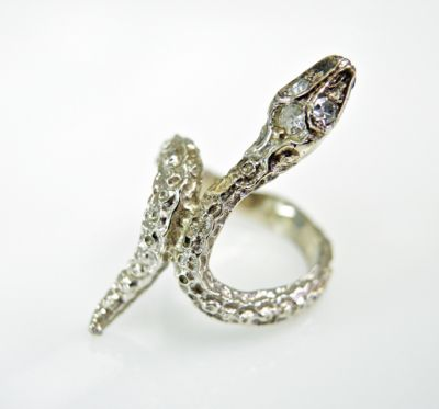 2015 ML Facets/3 Qtr/Vintage Diamond Snake Ring CFA1505333 79527