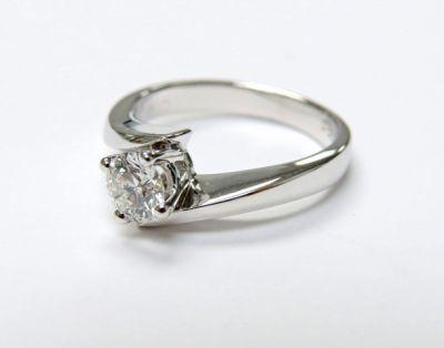 2015 ML Facets/3 Qtr/Vintage Diamond Solitaire Engagement Ring CFA150776 79761