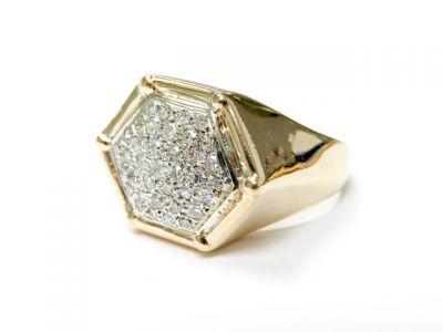2015 ML Facets/3 Qtr/Vintage Multi Diamond Ring CFA1505245 79547