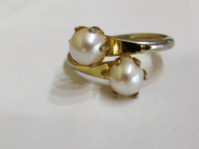 2015 ML Facets/3 Qtr/Vintage Pearl Ring CFA140367 75112