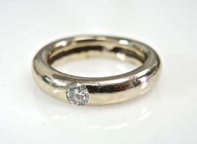2015 ML Facets/4 Qtr/Modern Diamond Solitaire Engagement Ring CFA150930 80094