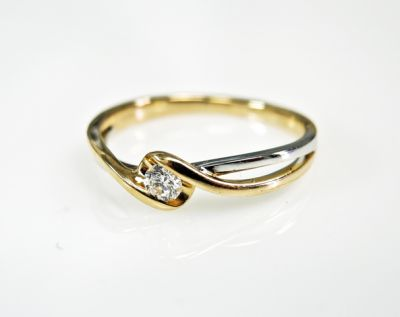2015 ML Facets/4 Qtr/Modern Diamond Solitaire Engagement Ring CFA150932 80096