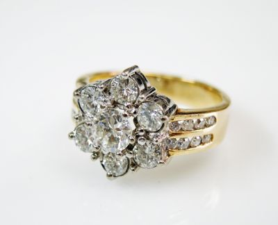 2015 ML Facets/4 Qtr/Retro Inspired Diamond Ring CFA1508336 80058