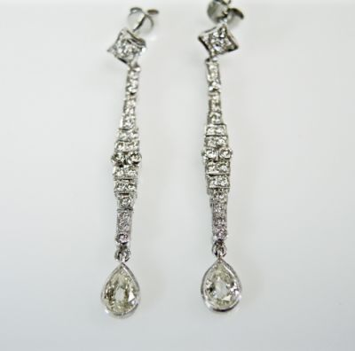 2015 ML Facets/4 Qtr/Vintage Diamond Drop Earrings CFA150890 79976