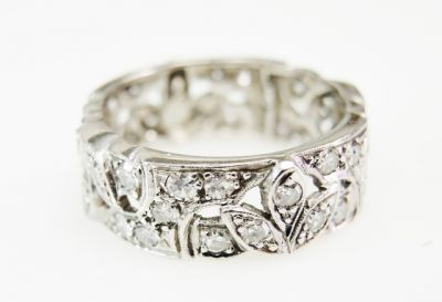 2015 ML Facets/4 Qtr/Vintage Diamond Eternity Band CFA150971 80128