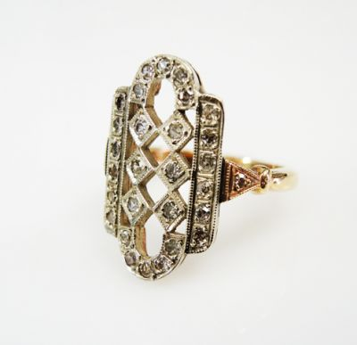 2015 ML Facets/4 Qtr/Vintage Diamond Ring CFA150888 79974