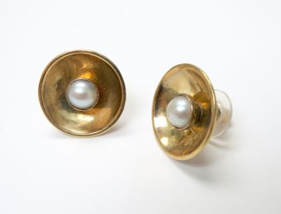 2015 ML Facets/4 Qtr/Vintage Pearl Earrings CFA150786 79776