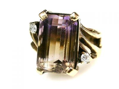 2015 ML Facets/Ametrine Ring CFA1207305 68561