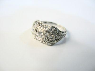 2015 ML Facets/Art Deco Diamond Ring CFA150309 79188