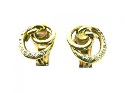 Cartier Vintage Diamond Earrings