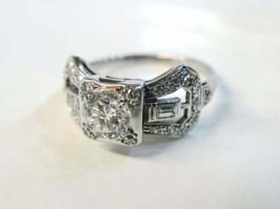 2015 ML Facets/Diamond Art Deco Ring CFA1503152 79257