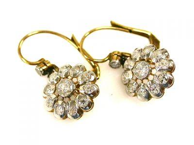 2015 ML Facets/Diamond Earrings CFA1212242 69898