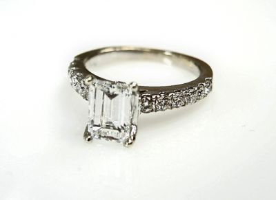 2015 ML Facets/Diamond Emerald Cut Ring CFA1412169 78941