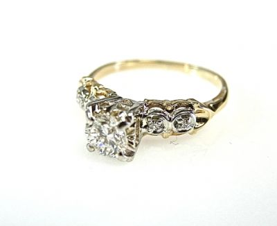 2015 ML Facets/Diamond Engagement Ring CFA1409120 78670
