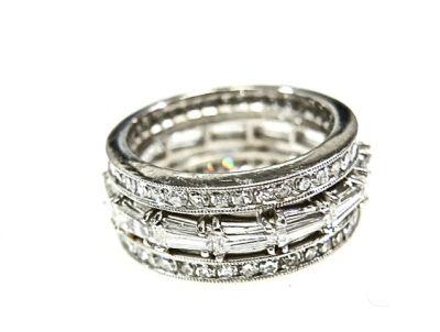 2015 ML Facets/Diamond Eternity Ring CFA1502113 79120