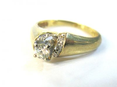 2015 ML Facets/Diamond Vintage Engagement Ring CFA141265 78955