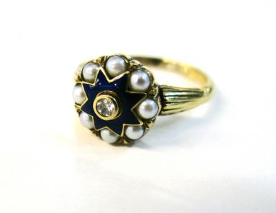 2015 ML Facets/Diamond and Pearl Ring CFA121186 69431