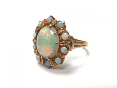 2015 ML Facets/Opal Estate ring CFA150338 79222