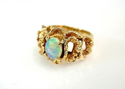 2015 ML Facets/Opal Ring CFA141054 78737