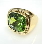 Secrett Peridot Ring