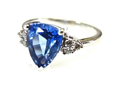 2015 ML Facets/Tanzanite and Diamond Ring CFA1502104 79113