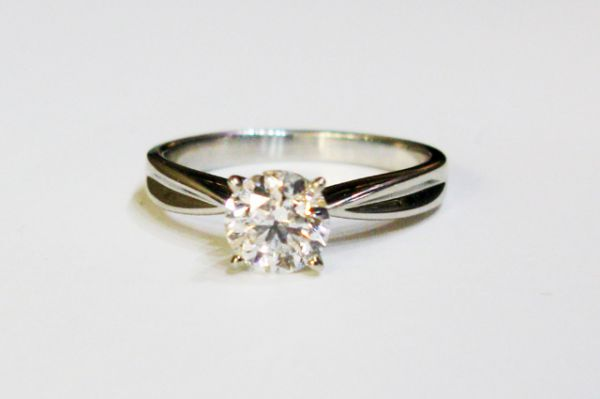 ring simple rings bezel engagement baguette unique diamonds with media princess wedding diamond modern