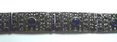 63627-october/Sapphire Bracelet Cynthia Findlay Antiques CFA051162c